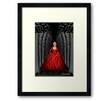 Emma Swan Once Upon A Time Framed Print