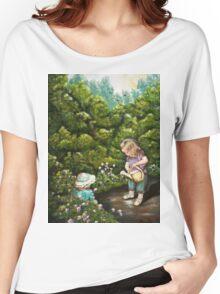 The Iittle Gardener Women's Relaxed Fit T-Shirt