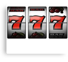 Slot Machine Canvas Print
