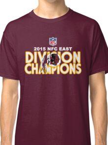 Washington Redskins - 2015 NFC East Champions Classic T-Shirt