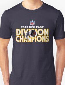 Washington Redskins - 2015 NFC East Champions Unisex T-Shirt