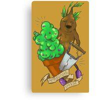 Herbology nerd! Canvas Print