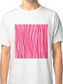 red strange stroke Classic T-Shirt