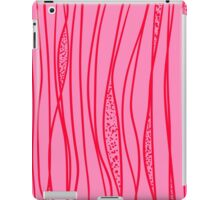 red strange stroke iPad Case/Skin
