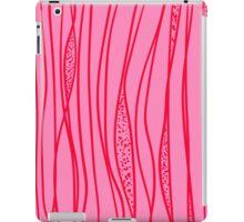 red strange stroke iPad Case/Skin