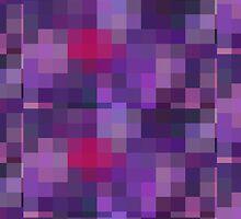 Purple Pixels by thehonestcactus