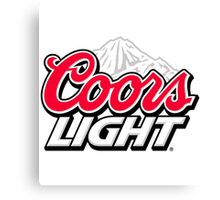 Coors Light [Beer] Canvas Print