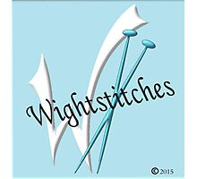Wightstitches Logo... Photographic Print