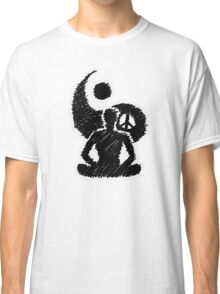 Meditated Peace - Ebony Classic T-Shirt