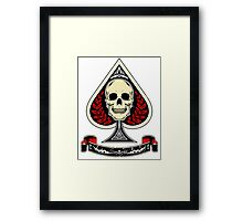Death of Hearts Framed Print