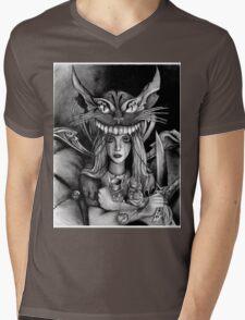 Alice Practice Mens V-Neck T-Shirt