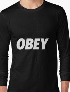 Another Obey.... Long Sleeve T-Shirt