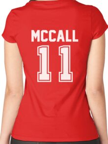 TEEN WOLF - SCOTT MCCALL #11 Women's Fitted Scoop T-Shirt
