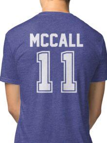TEEN WOLF - SCOTT MCCALL #11 Tri-blend T-Shirt