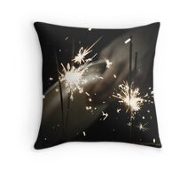Sparkles in the Dark Throw Pillow