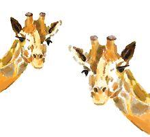 The Giraffe Couple by triplestudio
