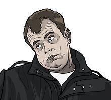 Steve McDonald Gurn by pickledjo