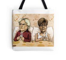 Ken and Deirdre Barlow Tote Bag
