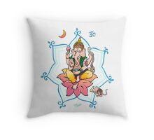 Sri Ganesh Throw Pillow