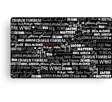 Casualty Characters [3] Canvas Print