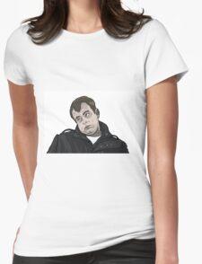 Steve McDonald Gurn Womens Fitted T-Shirt