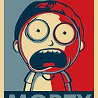 Morty Face by paperoni-themes