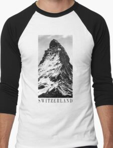 SWITZERLAND Men's Baseball ¾ T-Shirt
