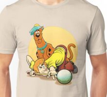 Scooby Doo and Shaggy Billiard Unisex T-Shirt