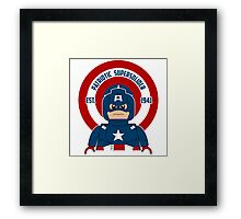 Patriotic Supersolider Framed Print