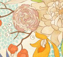 Peony Flower Pattern Sticker