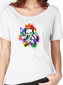 Inkling Girl - Splatter Women's Relaxed Fit T-Shirt