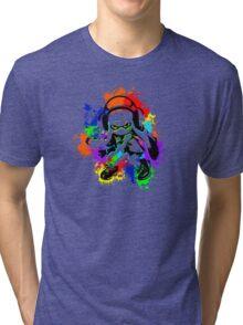 Inkling Girl - Splatter Tri-blend T-Shirt