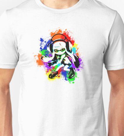 Inkling Girl - Splatter Unisex T-Shirt