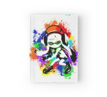 Inkling Girl - Splatter Hardcover Journal