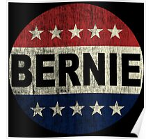 Bernie 2016 Shirt - Retro Bernie Sanders Vote Button T Shirt  Poster