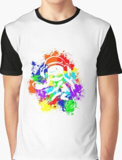Inkling Girl - Splatter v2 Graphic T-Shirt