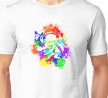Inkling Girl - Splatter v2 Unisex T-Shirt