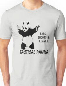 Tactical Panda Eats Shoots Leaves Unisex T-Shirt