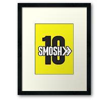 Smosh10 Framed Print