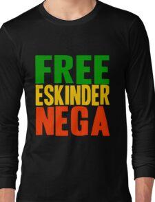 Free Eskinder Nega Long Sleeve T-Shirt