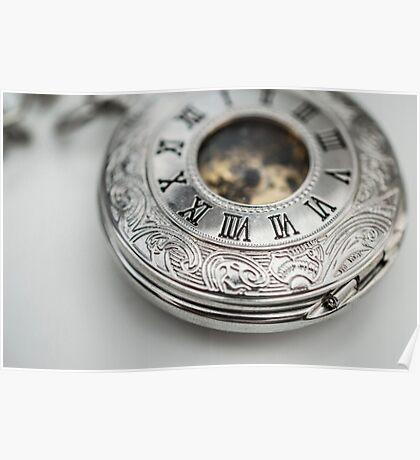 Steampunk Pocketwatch Poster