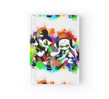 Inkling Boy and Girl - Splatter Hardcover Journal