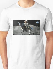 JFK Riding a Robot Unicorn on the Moon T-Shirt