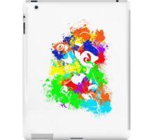 Inkling Boy - Splatter v2 iPad Case/Skin