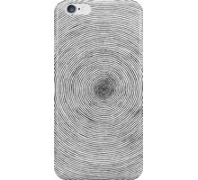 One Line Sprial iPhone Case/Skin