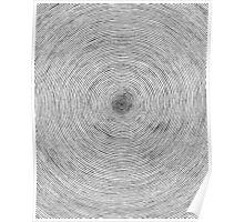 One Line Sprial Poster