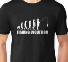 The Evolution Of Fishing Unisex T-Shirt