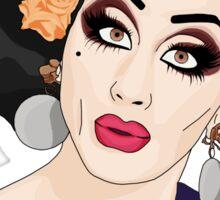 Bianca del Rio - Not today, Satan! (Cartoon) Sticker