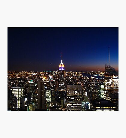 Empire State Building in New York City Photographic Print