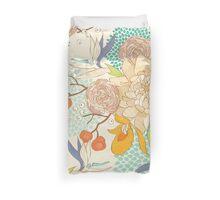 Peony Flower Pattern Duvet Cover